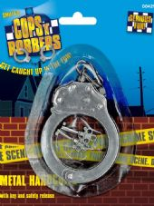 Police Metal Handcuffs